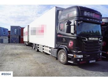 Scania R520 - lastbil med skåp