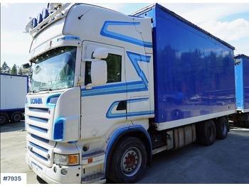 Scania R560 - lastbil med skåp