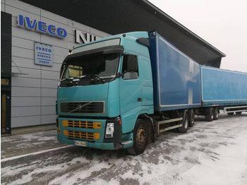 VOLVO VOLVO MATEC FH12 420 FH12 420 2003 2+2 sivukippi kärry - lastbil med skåp