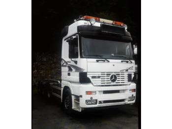 Mercedes-Benz 2553L hook-lift truck Multilift 8x2  - liftdumper lastbil