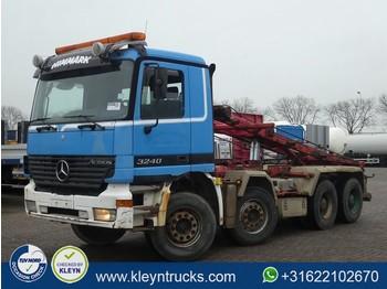 Liftdumper lastbil Mercedes-Benz ACTROS 3240 8x4 full steel