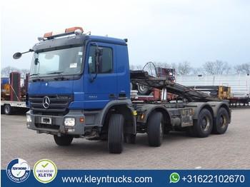 Liftdumper lastbil Mercedes-Benz ACTROS 3244 8x4 full steel eps