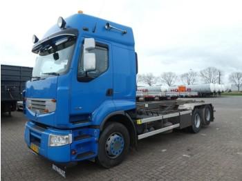 Liftdumper lastbil Renault PREMIUM 450 6x2 euro 5 cablelift: bild 1