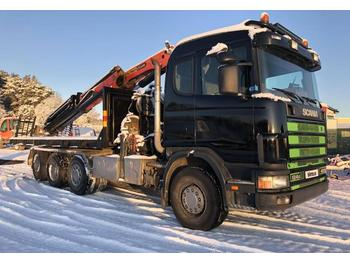 Scania 124 G  - liftdumper lastbil