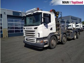 Scania G400 8X2 - liftdumper lastbil
