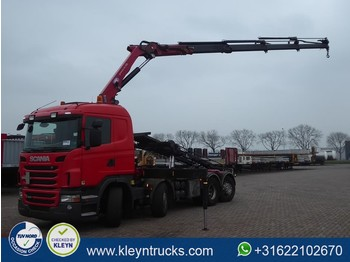Liftdumper lastbil Scania G440 8x2*6 hmf 2020-k4: bild 1