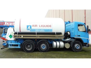 VOLVO GAS, Cryo, Oxygen, Argon, Nitrogen, Cryogenic - tankbil lastbil