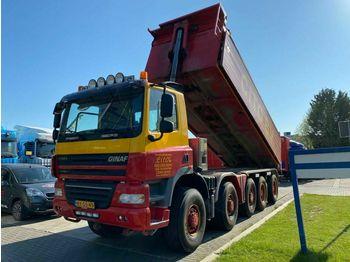 Ginaf X5450S 10X8 EURO 5 - 24,2 M3  - tippbil lastbil