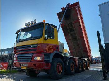 Ginaf X5450S 10X8 MANUAL EURO 5 - 24,2 M3  - tippbil lastbil
