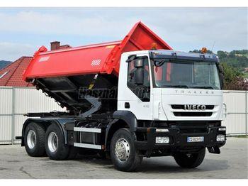 Tippbil lastbil IVECO Trakker