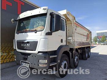Tippbil lastbil MAN 2012 TGS 41.400 AC E5 8X4 HARDOX TIPPER