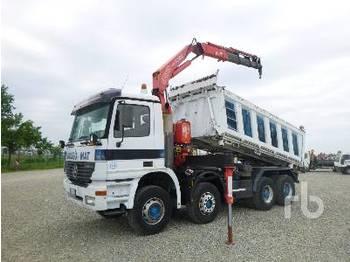 MERCEDES-BENZ ACTROS 4144 8x4 - tippbil lastbil
