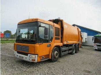 Tippbil lastbil Magirus Deutz 28.320 6x2 Müllwagen, 21,2 cbm Joab