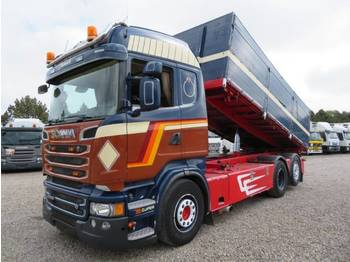 Scania R560 6x2 Highline Euro 5 - tippbil lastbil