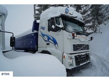 Tippbil lastbil Volvo FH16 540