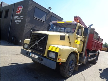 "Tippbil lastbil Volvo N 10 378""km tOP big Axle"