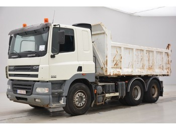 DAF CF85.480 - 6x4 - tractor/tipper double use - tipvogn lastbil