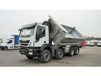 Tipvogn lastbil Iveco STRALIS X-WAY 480, 8x4, NEW VEHICLE , THREE SIDE