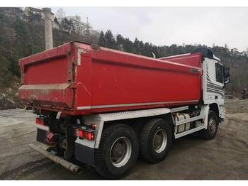 Mercedes-Benz 2655 6x4 used dump truck Volvo Scania  - tipvogn lastbil