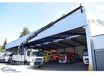 DAF CF 75 - 310, Euro 5, Palfinger PK 27002, 6x2, Manuel, Truckcenter Apeldoorn - flatbed lastebil