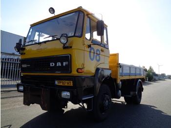 Flatbed lastebil DAF FAV 1800 DT 320