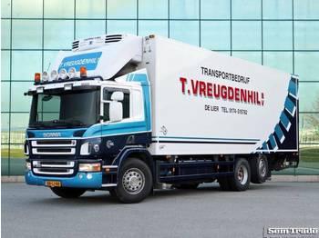 Scania P360 6x2*4 VAN BEURDEN BAK THERMO KING D/E KOELING/VERWARMING - skap/ distribusjon lastebil