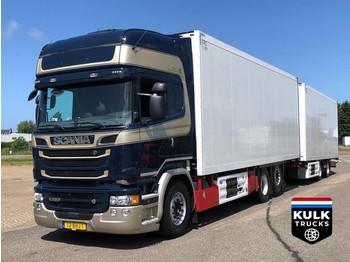 Scania R 520 / Ret / SCHMITZ / THERMO KING CONCOURSSTAAT / NL TRUCK - skap/ distribusjon lastebil