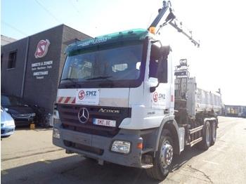 Mercedes-Benz Actros 2636 HIAB 144B-2CL - tipp lastebil