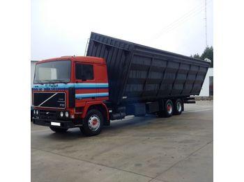 VOLVO F10 320 left hand drive 10 tyres 26 ton retarder TD102F - tipp lastebil