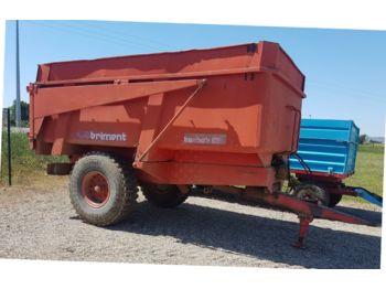Brimont K85 - lauksaimniecības piekabe-pašizgāzējs