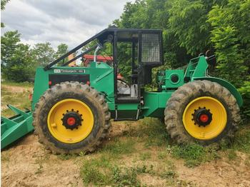 Timberjack 380 - лесной трактор