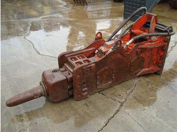 NPK H12XE hydraulic hammer  - hüdrauliline haamer