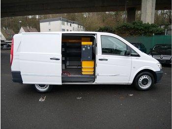 Цельнометаллический фургон MERCEDES-BENZ Vito Kasten 110 CDI lang mit Sortimo Einbau