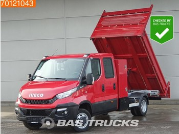 Iveco Daily 35C17 3.0 170PK 8-Traps Automaat Kipper Navi Trekhaak A/C Double cabin Towbar Cruise control - малотоннажный самосвал