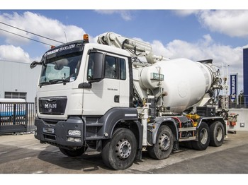 MAN TGS 32.400 EURO5 + POMPE - شاحنة