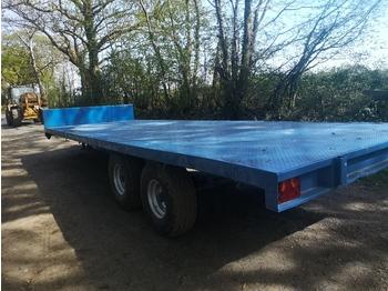 Warwick 10 ton - remorque plateau agricole