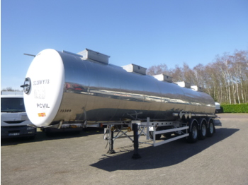 صهريج نصف مقطورة Magyar Chemical tank inox 33 m3 / 1 comp / ADR 05/2020