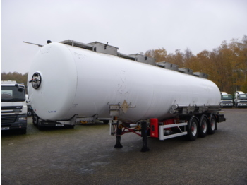 صهريج نصف مقطورة Magyar Chemical tank inox 37.5 m3 / 3 comp