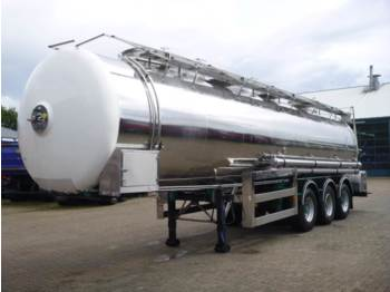 صهريج نصف مقطورة Magyar Food tank inox 32 m3 / 1 comp.