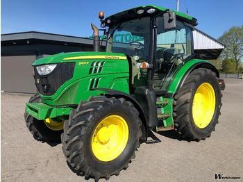 John Deere 6105R - traktor me goma