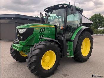 John Deere 6125R - traktor me goma
