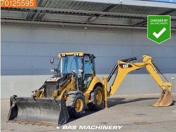 Caterpillar 432 E Good tyres - MP bucket - fadromë me shkarkim nga prapa