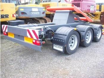 Sandvik / Extec Dolly axle / Dolly Transportachse - makinë thërrmuese