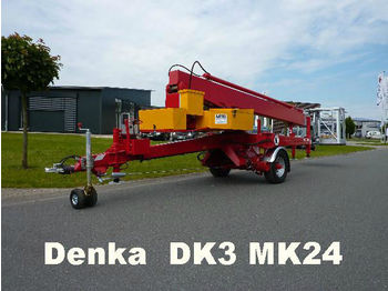 Denka Anhänger Arbeitsbühne DK3 MK24 21m  - platformë ajrore