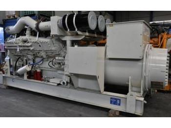 Cummins 1600 kVA - 2000 hours - set gjeneratori