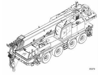 Vinç i të gjithë terreneve TADANO ATF 80-4