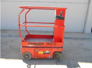 Plataforma de mastro vertical UPRIGHT TM12