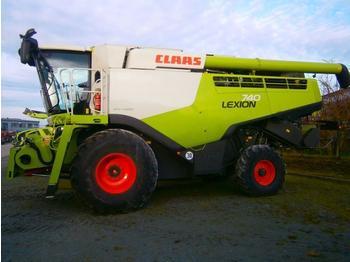 Cosechadora de granos Claas LEXION 740