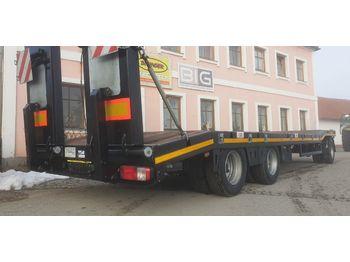 BNT 2ALM 3 Achs Tieflader NEU  - remolque plataforma agrícola