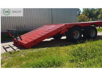Dinapolis Anhänger für Ballen RL-8100 14 t/Прицеп для перевозки тюков и рулонов RL 8100 14 тонн - remolque plataforma agrícola